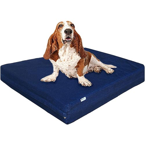 Dogbed4less-Premium-Memory-Foam-Dog-Bed